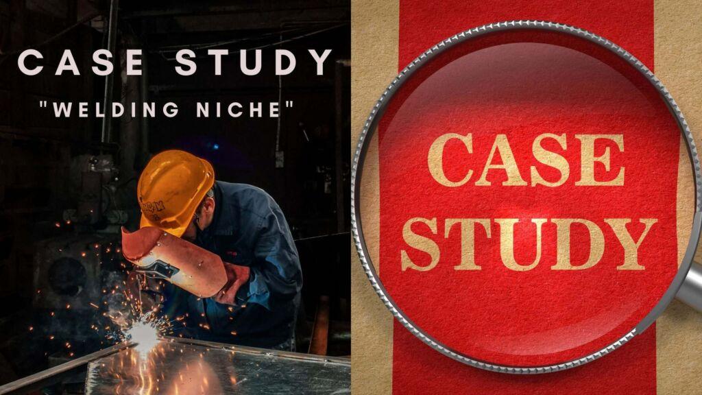 case study - blog na temo varjenja.
